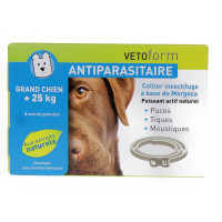Antiparasitaire Collier...