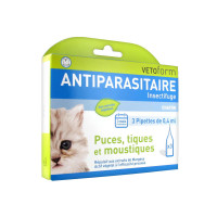 Vetoform Antiparasitaire chaton 3...