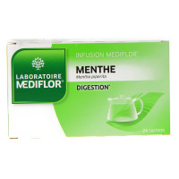 Menthe Infusions 24 Sachets