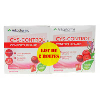 Cys-control Sachets Lot de 2
