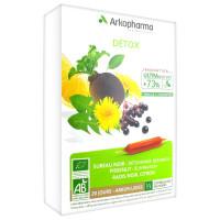 Arkofluides Détox 20 Ampoules
